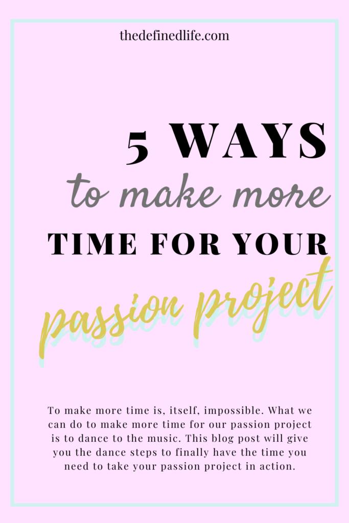 make more time