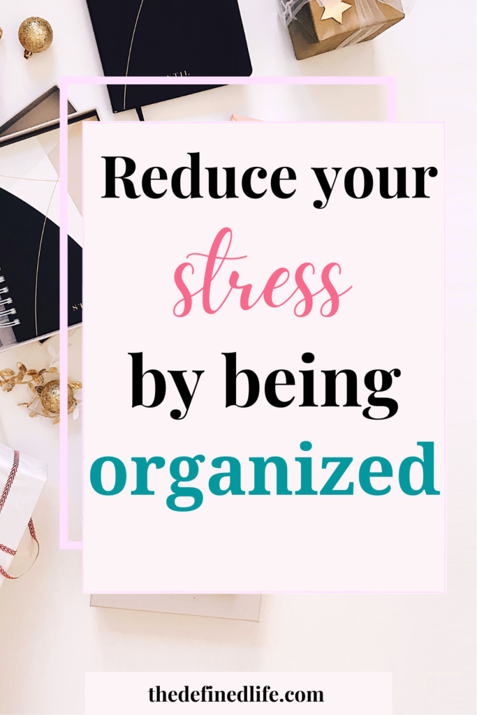 An organized life is also a stress management activity. Learn how you can be stress-free with these organization tips.