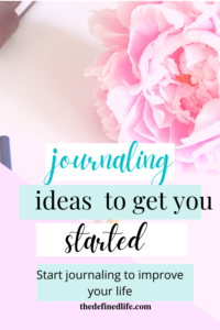 Journaling enhances my life and let me stay tuned to myself. Learn how you can start journaling using these 9 journaling ideas for beginners.