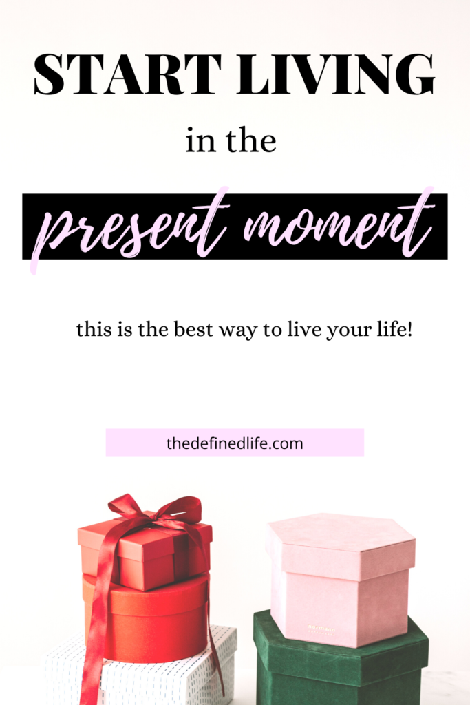 The best way to live our life is to enjoy living in the present moment. Find the balance and enjoy life using these 3 secrets from this blog post. Living in the present + living best life.