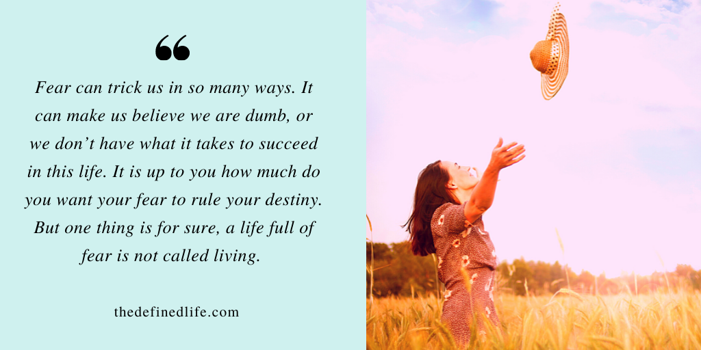 5 Tips to Fight Your Fear and Take Charge of Your Life