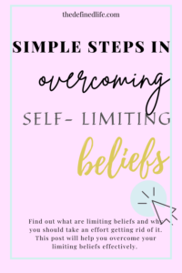 Do you know that your beliefs can stop you from achieving your greatest potential? Find out what are limiting beliefs and why you should take an effort getting rid of it. This post will help you overcome your limiting beliefs effectively.